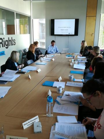 Members attending Housing Rights Housing Advice Practitioners' Forum